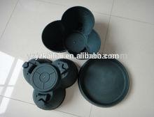 plastic wholesale stackable flower pots