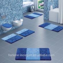 Blue mats, rug design, Bathroom Mat Sets