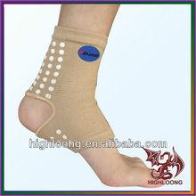 Power Ionics Bamboo Charcoal Elastic Arthritis Ankle Sleeve Brace Support