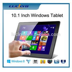 10.1 Inch Windows Tablet pc, Intel Baytrail Z3735 Quad core windows tablet,2GB 32GB Windows 8 Tablet