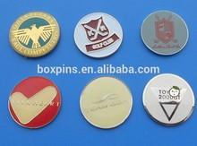 custom metal magnetic ball market/hat clip marker for golf club