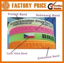 Promotion Cheap Logo Custom Silicone Wristband