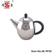New Model Stainless Steel 1.0L Tea/Coffee Kettle Household Item