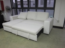 China cheap price sofabed + storage chaise functional sofa design DH16315 / functional sofa set sofabed + storage chaise DH16315