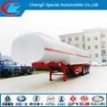 Tri-axle tanques caminhão de combustível com elevador eixo de suspensão a ar