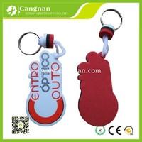 promotion eva floating keychain