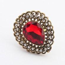 fashion vintage gemstone new design finger ring