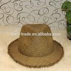 natural raffia straw hat