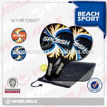Splash paddle rackets set,beach ball racket games,led beach ball