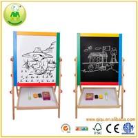 Multi-function Magnetic Kids Drawing Board Wooden Easel
