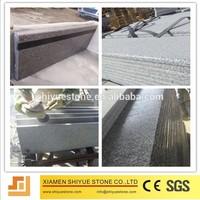 Natural Stone Stair Treads/Granite Stair Step/Granite Exterior Stair