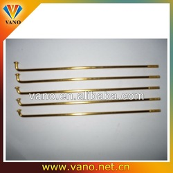 motorcycle spare parts 185mm Gold bicycle spokes