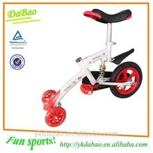 Kids Indoor&Outdoor Toys Three Wheels Mini Bike, Front Flicker Wheel