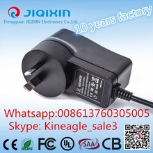 1000mA AC 100-240V charger DC cable adapter for 3G mobile phone