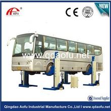 30 ton four post heavy duty truck wheel lifts