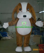 HI CE Cute dog mascot costume,Christmas dog costume,party dog mascot