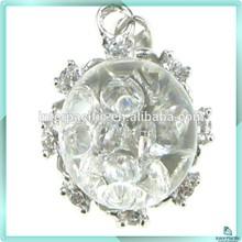 Handmade Unique Design floating CZ 925 silver jewelry