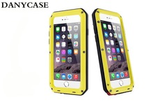 2014 New Arrival Powerful Waterproof Shockproof Aluminum Metal Cover Case For IPhone