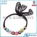 Mujeres joyería del pelo de la moda diseño único hechos a mano mal de ojo hairband