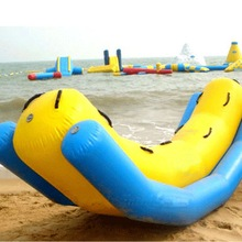 Newest inflatable human inflatable water games flyfish banana boat