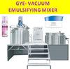 Cosmetic vacuum mixing equipment hydraulic lifting body lotion making machine