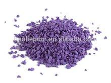 Granulated epdm rubber for basketball floor