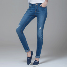 Fashion Design Denim Short red blue women jeans models