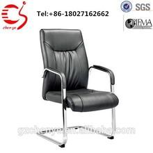 Metal frame office chair head rest