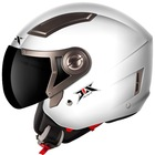 motorcycle full face double glasses single color helmet