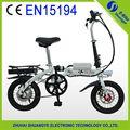 Usine prix de 14 pouces. bon vélo pliant électrique pour les enfants