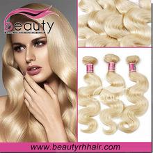 Beauty Hair human brown honey blonde brazilian hair weave