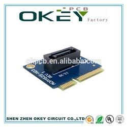 Mini PCI-E MSATA SSD To SATA 7pin PCBA Adapter MASATA testing PCB tools
