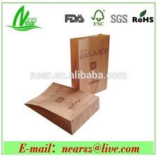 kraft paper coffee bags, brown kraft paper bags, paper bags for food