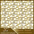 2015 nuevos productos de acero inox 3d egipcio de arte de la pared decoración