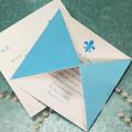 design feito à mão de luxo de convite de casamento cartão de impressão