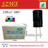 electric generator capacitor 100v 150uf 13*25mm motor run capacito
