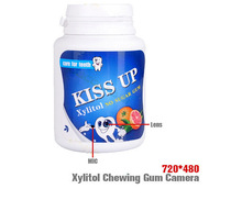 Chewing Gum Container mini hidden DVR camera Motion Detection