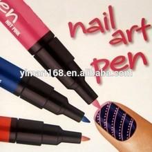 Yimart 12 Colors Nail Art Drawing Pen Nail Varnish Polish Paint Pen
