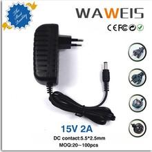 15v 2a ac adapter for DVR,CCTV camera