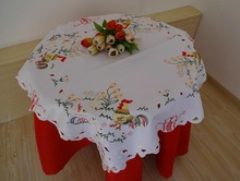 2014 hand embroidery designs tablecloth