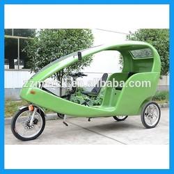 3 seats tricycle electric rickshaw
