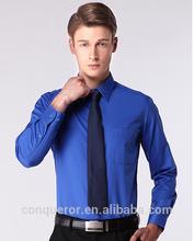 2015 fashion cotton business shirt elegant for men