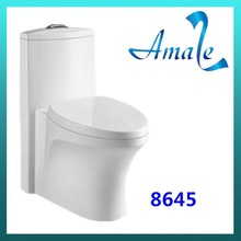 used portable color toilets for sale Siphonic one piece toilet seat with slow down seat cover