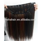 Top Grade High Quality Brazilian Virgin Human Hair Half Wig