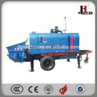 Large Output Large Aggregate Concrete Trailer Pump