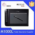 القلم الرقمي ugee m1000l اللوحة رسومات الرسم للكمبيوتر