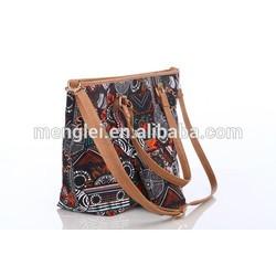 2015 cheap canvas bag beach handbag fashion big package bag