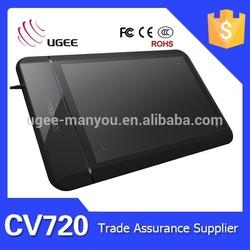 Best supplier UGEE CV720 Digital Rechargable writing pen tablet