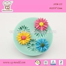 Big Flower Shape Silicon Cake Baking molds Silicon Bakeware