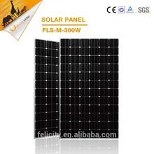 Factory price high power high efficiency 300w monocrystalline solar module pv panel